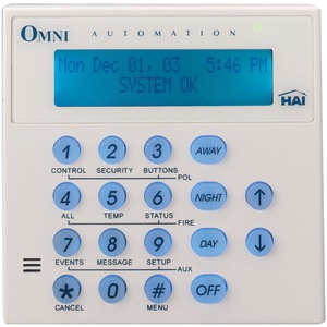 HAI Omni Console with Built-in Speaker-Microphone 33A00-4O/OA334