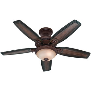 HUNTER 54 Inch. Brushed Cocoa Ceiling Fan 54014