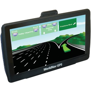 WorldNav 7650 High-Resolution Truck 7 Inch. GPS Device