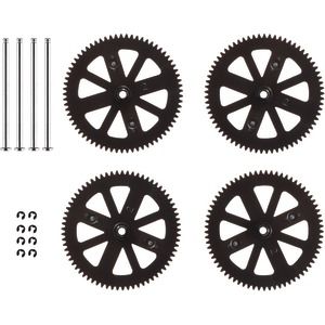 Gears & Shafts Set of 4