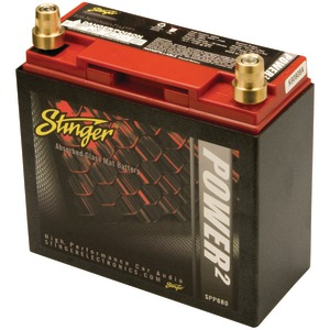STINGER 680-Amp Battery with Metal Case SPP680