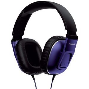 HT470C Street Band Monitor Headphones with Remote & Microphone (Purple-Black)