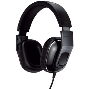 HT480C Street Band Monitor Headphones with Remote & Microphone (Glossy Black)
