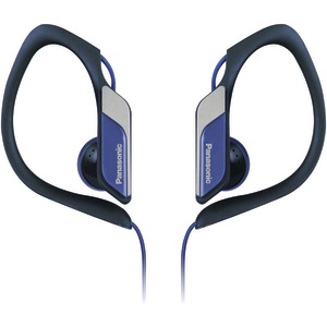 Sport Clip HS34 Headphones with Microphone (Blue)