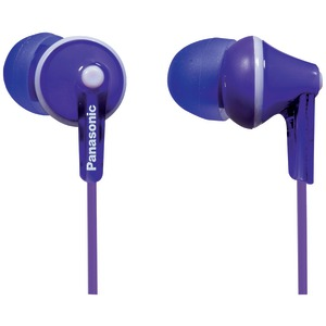 TCM125 Earbuds with Remote & Microphone (Purple)
