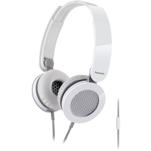 Sound Rush On-Ear Headphones with Microphone (White)