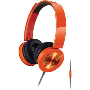 Sound Rush Plus On-Ear Headphones with Microphone (Orange)