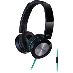 Sound Rush Plus On-Ear Headphones with Microphone (Black)