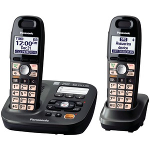 PANASONIC DECT 6.0 Plus Cordless Amplified Phone System (2-handset system) KX-TG6592T