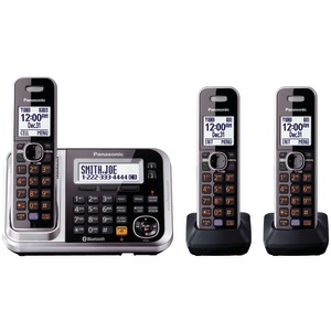 DECT 6.0 Link-to-Cell Bluetooth(R) Cordless Phone System (3-Handset System)