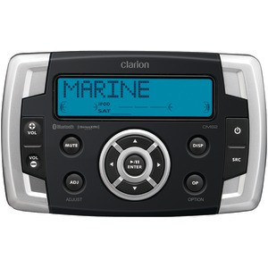 CLARION Marine  Inch.Black Box Inch. Digital Media Receiver with USB Port & SiriusXM(R) Ready CMS2