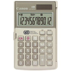 CANON 12-Digit Handheld Calculator 1075B004AA