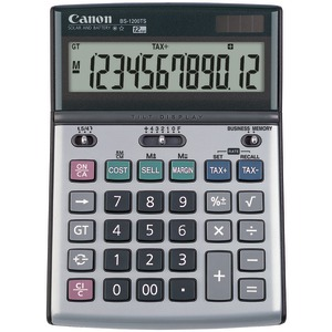CANON BS1200TS Solar & Battery-Powered 12-Digit Calculator 8507A010
