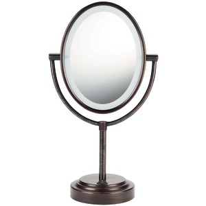 CONAIR Double-Sided Lighted Mirror (Oiled Bronze) BE47BR
