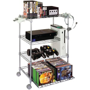 4-Tier Wire Gaming Tower