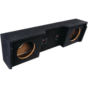 ATREND BBox Series Subwoofer Boxes for GM(R) Vehicles (10 Inch. Dual Downfire) A152-10CP