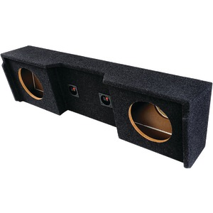 ATREND BBox Series Subwoofer Boxes for GM(R) Vehicles (12 Inch. Dual Downfire) A152-12CP