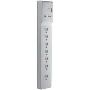 BELKIN 7-Outlet Home-Office Surge Protector (6ft Cord) BE107000-06-CM