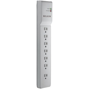 BELKIN 7-Outlet Home-Office Surge Protector (7ft Cord) BE107000-07-CM