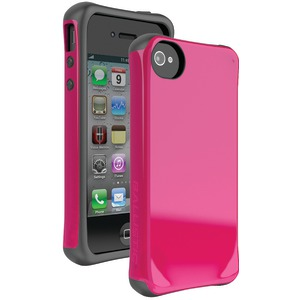 iPhone(R) 4-4S Aspira(R) Series Case (Pink-Charcoal)