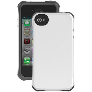 iPhone(R) 4-4S Aspira(R) Series Case (White-Charcoal)