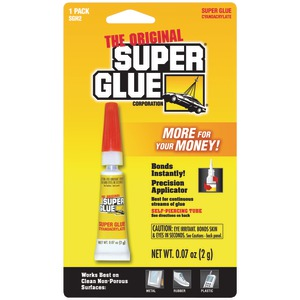 SUPER GLUE Super Glue Tubes (Single Pack) SGH2-12