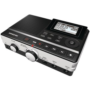 SANGEAN Digital Audio Recorder with Phone Answering Capability DAR-101