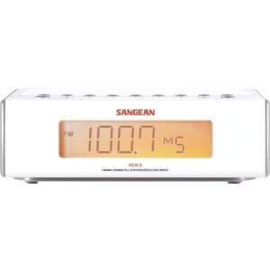 SANGEAN Digital AM-FM Alarm Clock Radio RCR-5