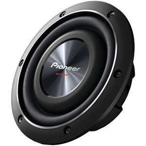 PIONEER 8 Inch. 600-Watt Shallow Subwoofer with Dual 2Ω Voice Coils TS-SW2002D2