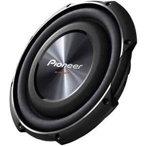 PIONEER 10 Inch. 1200-Watt Shallow Subwoofer with Single 4Ω Voice Coil TS-SW2502S4