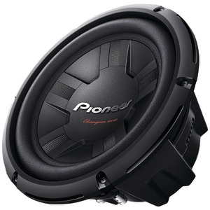 PIONEER 10 Inch. 1200-Watt 4Ω Champion Series Subwoofer (Single Voice Coil) TS-W261S4