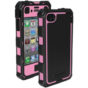 iPhone(R) 4-4S Hard Core(R) Series Case with Holster (Black-Pink)