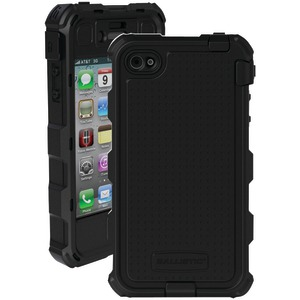 iPhone(R) 4-4S Hard Core(R) Case with Holster (Black)