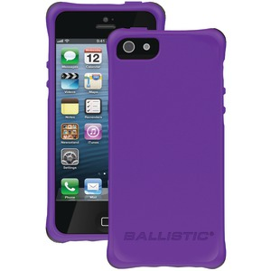 iPhone(R) 5-5s LS Smooth Case (Purple with 4 Lime Green 4 Pink 4 Charcoal 4 Teal Bumpers)