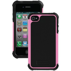 iPhone(R) 4-4S SG Case (Black-Pink)