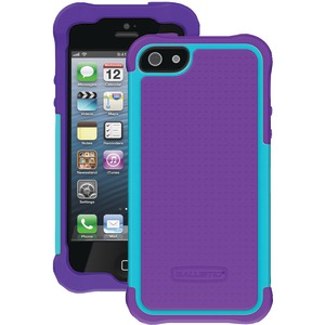 iPhone(R) 5-5s SG Case (Purple-Teal Blue)