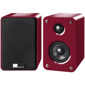 3 Inch. 2-Way DREAM BOX Speakers (Bordeaux)