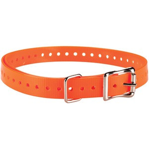GARMIN Delta(TM) 3-4 Inch.-Wide Collar Strap (Orange) 010-11870-03