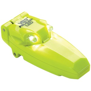 PELICAN 9-Lumen VB3 2220C Small Clip-On LED Flashlight with Flip-up Activation (Yellow) 2220-010-245