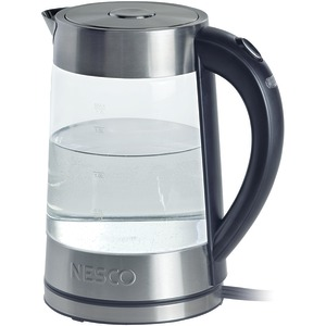 NESCO 1.8-Liter Electric Glass Water Kettle GWK-02