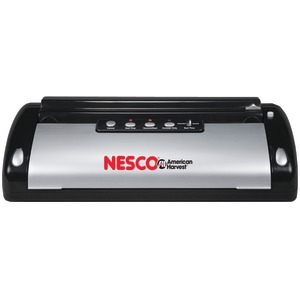 NESCO Vacuum Sealer (130-Watt; Black & Silver) VS-02