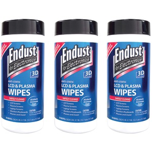 ENDUST Lcd & Plasma Monitor Cleaner Pop-up Wipes NOZ11506KIT