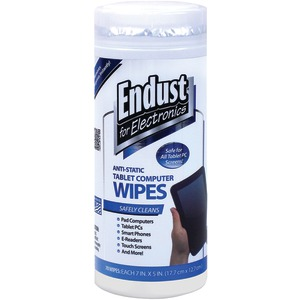 ENDUST Tablet Wipes 70 ct 12596