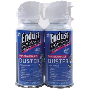 ENDUST Electronics Duster (3.5oz; Nonflammable; with Bitterant; 2 pk) 246050