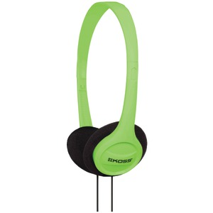 KOSS KPH7 On-Ear Headphones (Green) 187741