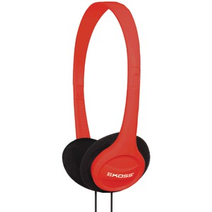 KOSS KPH7 On-Ear Headphones (Red) 184987