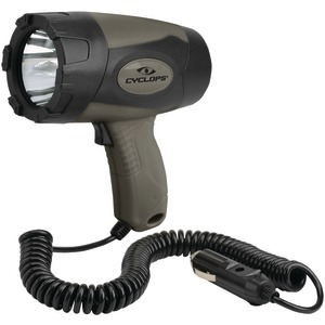 CYCLOPS 5-Watt Handheld 12V Direct Spotlight CYC-5WS12V-TB