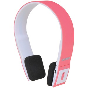 Bluetooth(R) Headphones with Microphone (Pink)