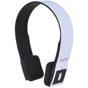 Bluetooth(R) Headphones with Microphone (White)
