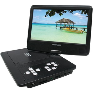 SYLVANIA 10 Inch. Swivel-Screen Portable DVD Player SDVD1030